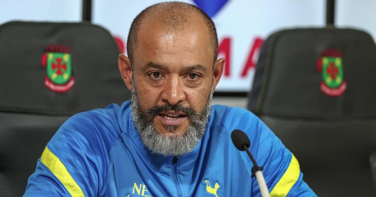 Tottenham manager Nuno Espírito Santo in Europa Conference League press conference