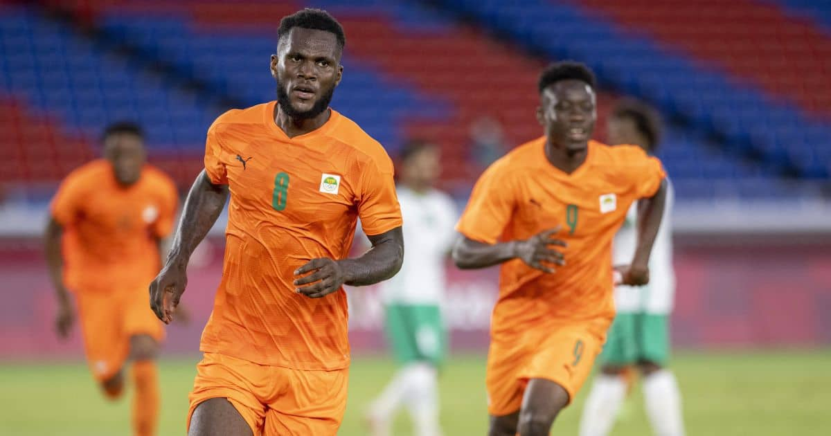 Franck Kessie of Ivory Coast and AC Milan