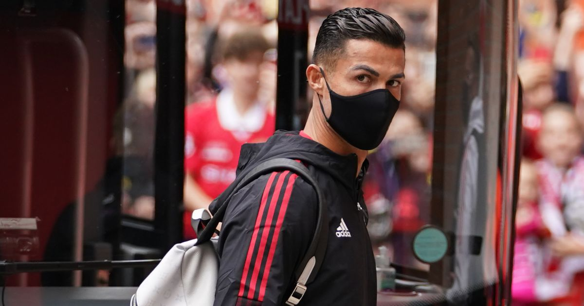 Cristiano Ronaldo Man Utd bus September 2021