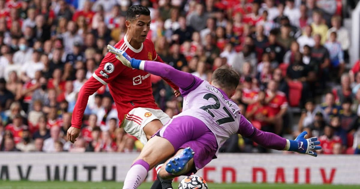 Man Utd forward Cristiano Ronaldo