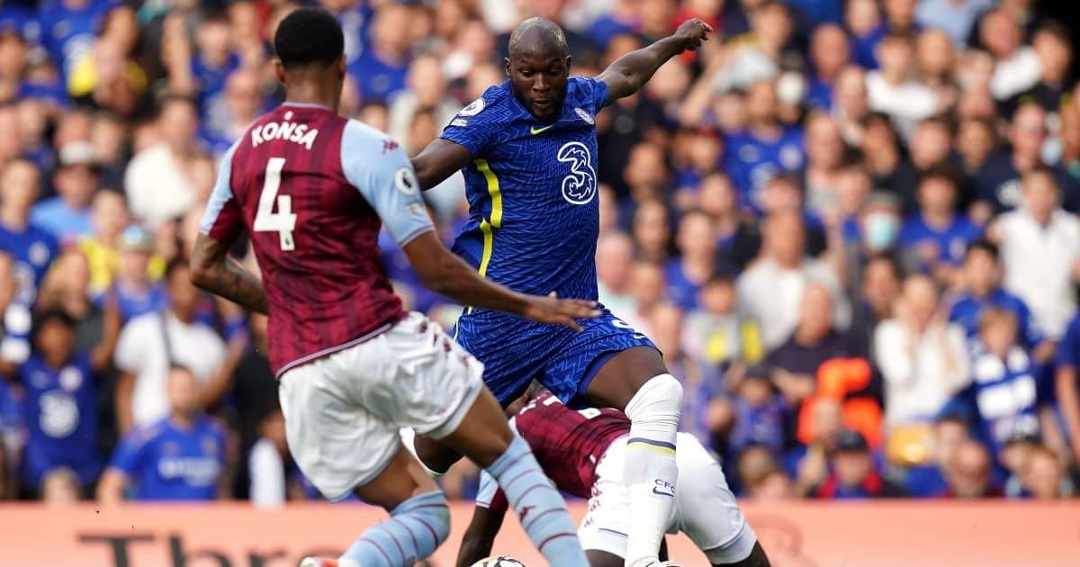 Lukaku sends message to Ronaldo with brilliant Chelsea debut as Villa swept aside
