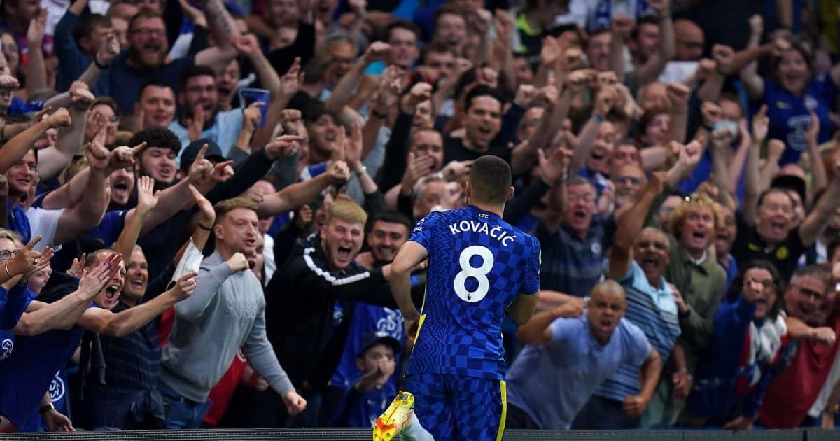 Chelsea midfielder Mateo Kovacic