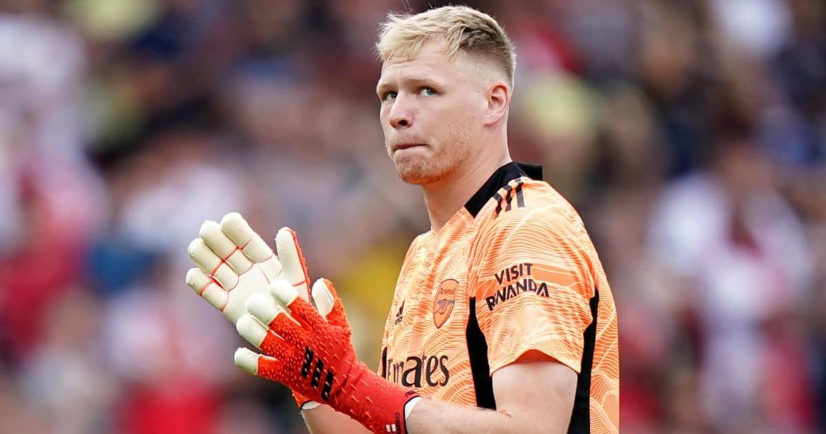 Aarom Ramsdale Arsenal Premier League debut v Norwich September 2021