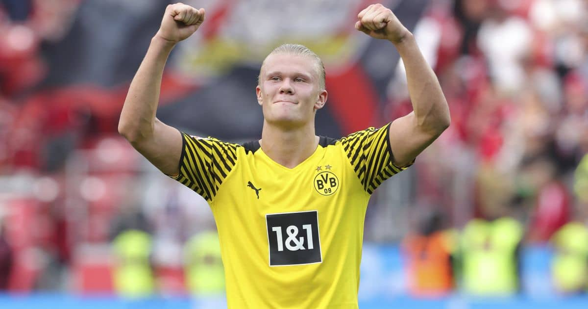 Erling Haaland Borussia Dortmund Septembre 2021