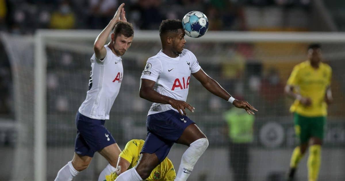Tottenham pair Ryan Sessegnon, Ben Davies