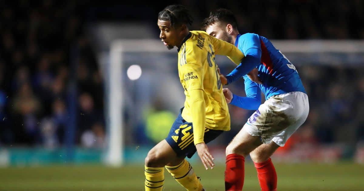 Arsenal forward Reiss Nelson