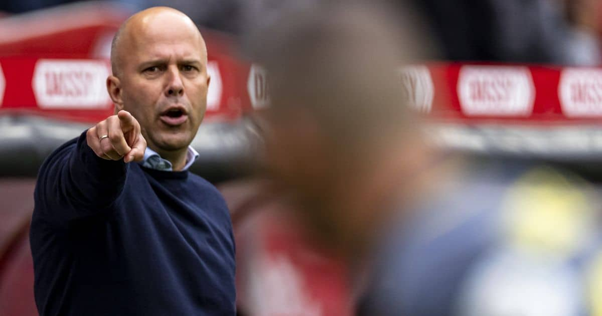 Feyenoord manager Arne Slot
