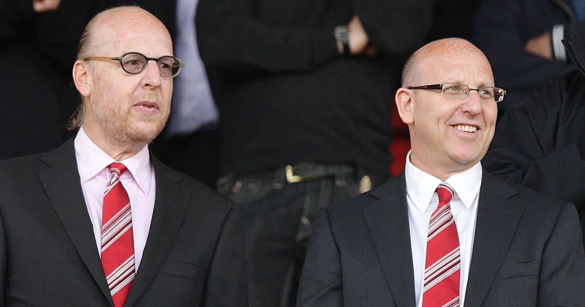 Avram Glazer and Joel Glazer Manchester United owners