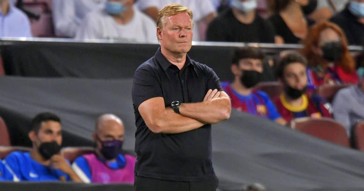 Ronald Koeman Barcelona v Bayern Munich September 2021