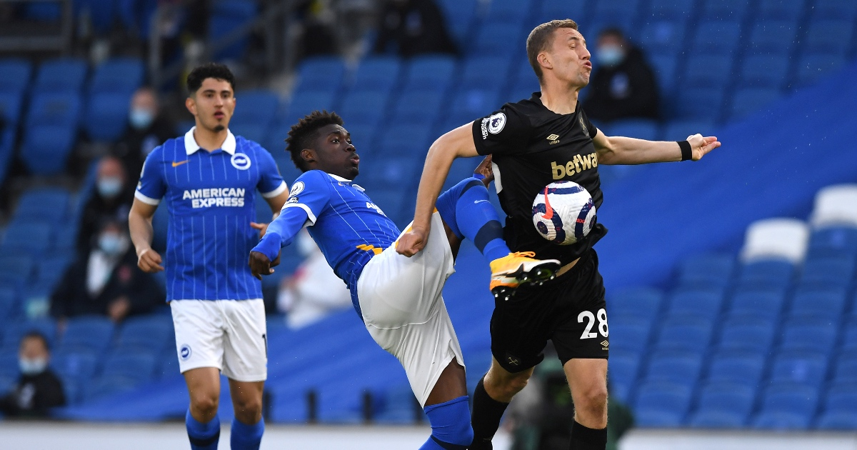 Yves Bissouma Brighton Man Utd