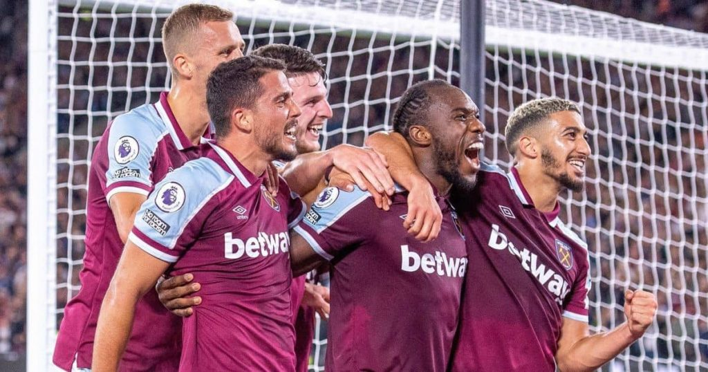 West Ham move back on as Nigerian goal machine takes decisive action