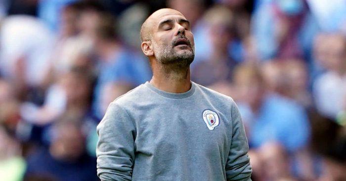 Pep Guardiola during Manchester City v Southampton
