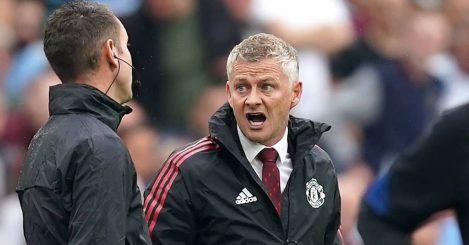 Man Utd manager Ole Gunnar Solskjaer during their 2-1 victory over West Ham