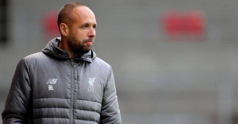 Liverpool coach Barry Lewtas