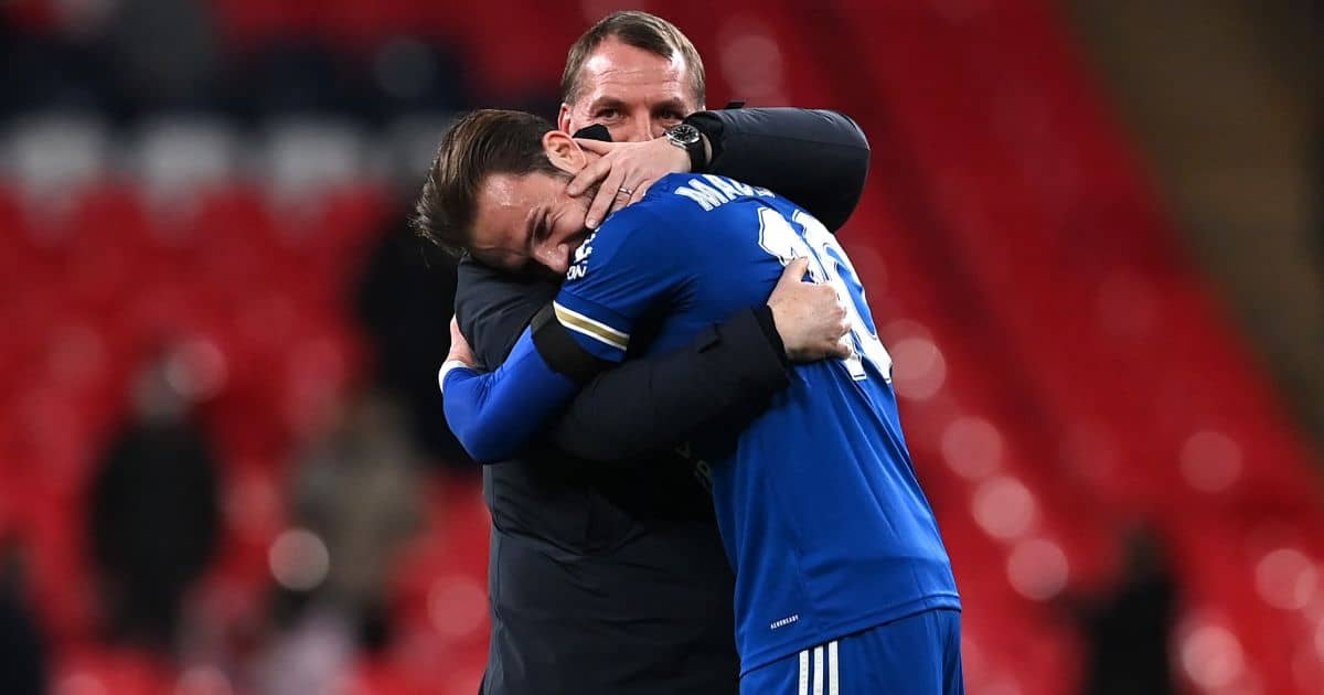 Brendan Rodgers pinpoints James Maddison issue after hooking him at half-time