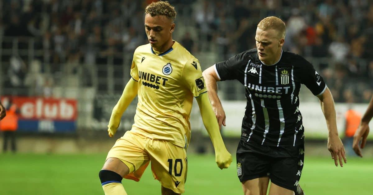 Club Brugge Noa Lang Charlerois Jules Van Cleemput September 2021