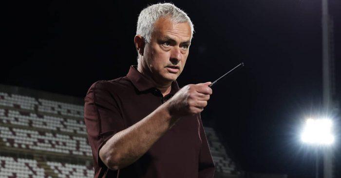 Roma manager Jose Mourinho 2021
