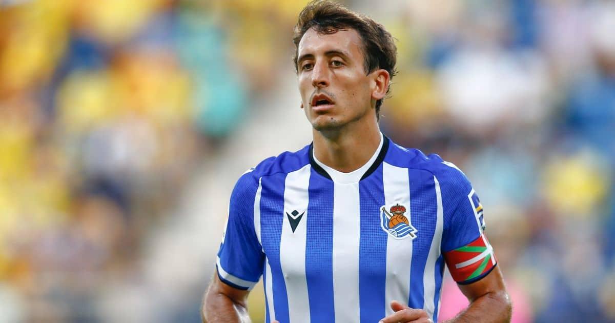 Mikel Oyarzabal Real Sociedad September 2021
