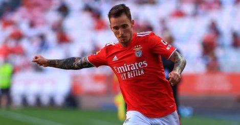 Alex Grimaldo Benfica August 2021