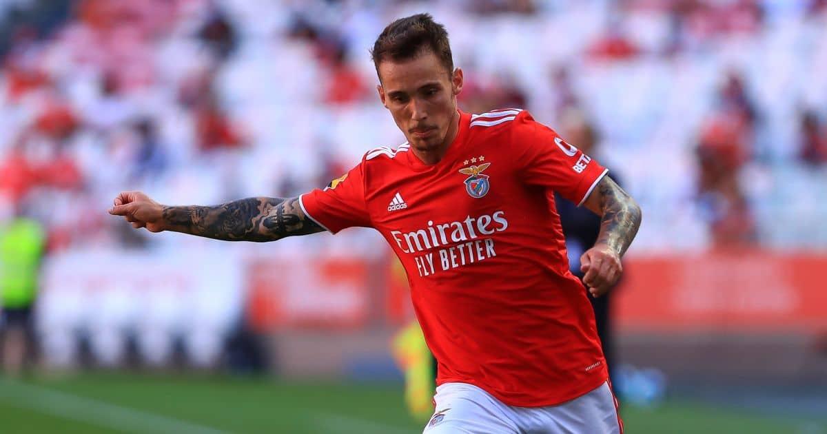 Alex Grimaldo Benfica Août 2021