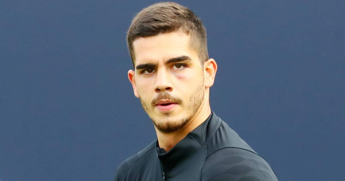 RB Leipzig striker Andre Silva 2021
