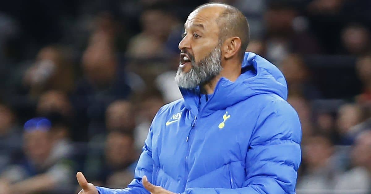 Nuno Espirito Santo, Tottenham manager during Europa Conference League Qualifying Play-Offs 2nd Leg between Tottenham Hotspur and Pacos de Ferreira