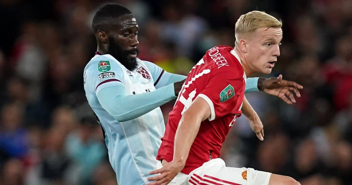 Man Utd star blamed for his part in early Carabao Cup exit