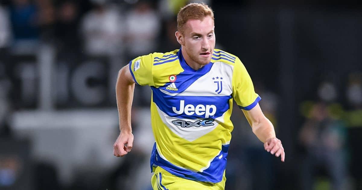 Dejan Kulusevski in action for Juventus against Spezia
