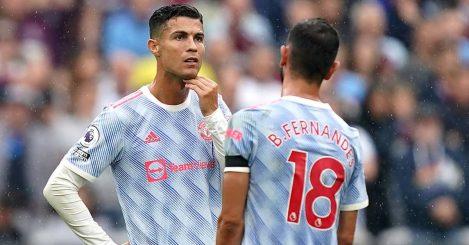 Man Utd pair Cristiano Ronaldo and Bruno Fernandes 2021