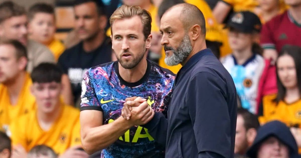 Nuno urged to make drastic request to Levy over Kane to avoid Spurs sack