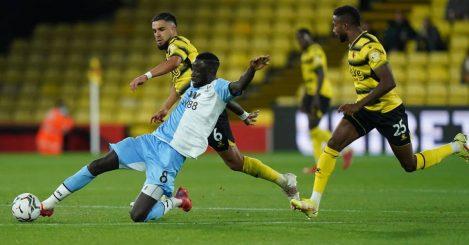 Watford midfielder Imran Louza