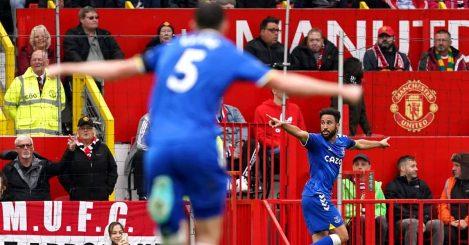 Andros Townsend, Man Utd v Everton, October 2021