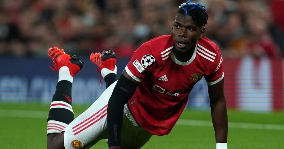 Manchester United's Paul Pogba during the UEFA Champions League, Group F match against Villarreal at Old Trafford