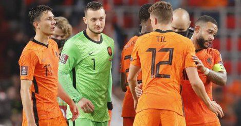 Netherlands goalkeeper Justin Bijlow 2021