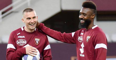 Torino defender Nicolas Nkoulou 2021