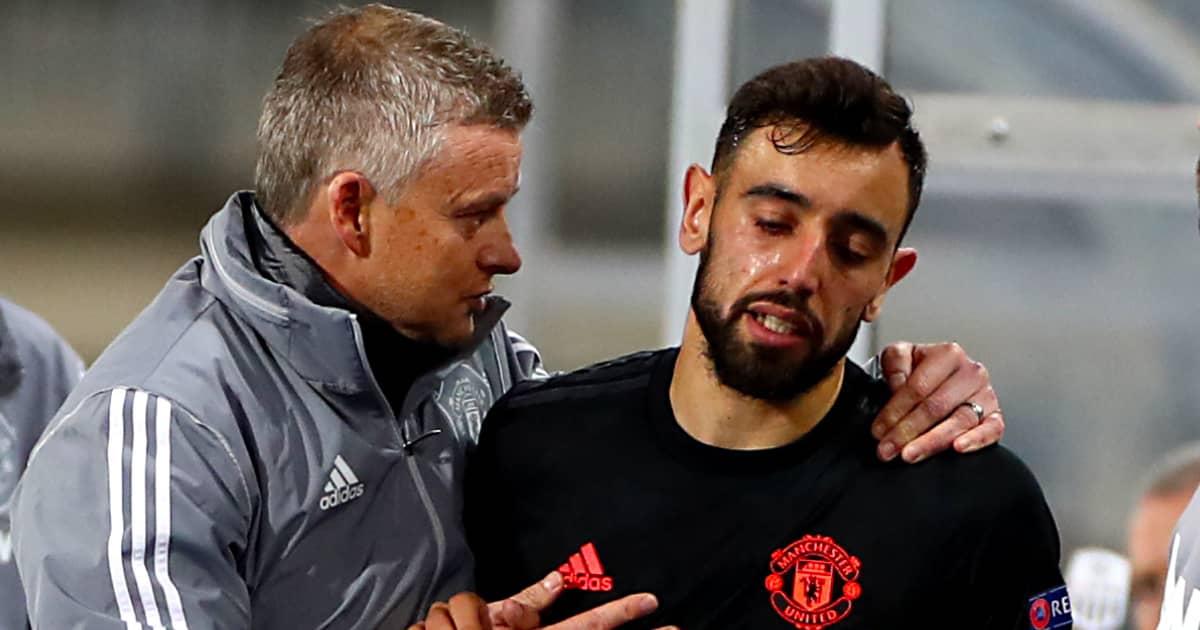 Man Utd sweating as Fernandes injury details emerge ahead of huge Liverpool clash