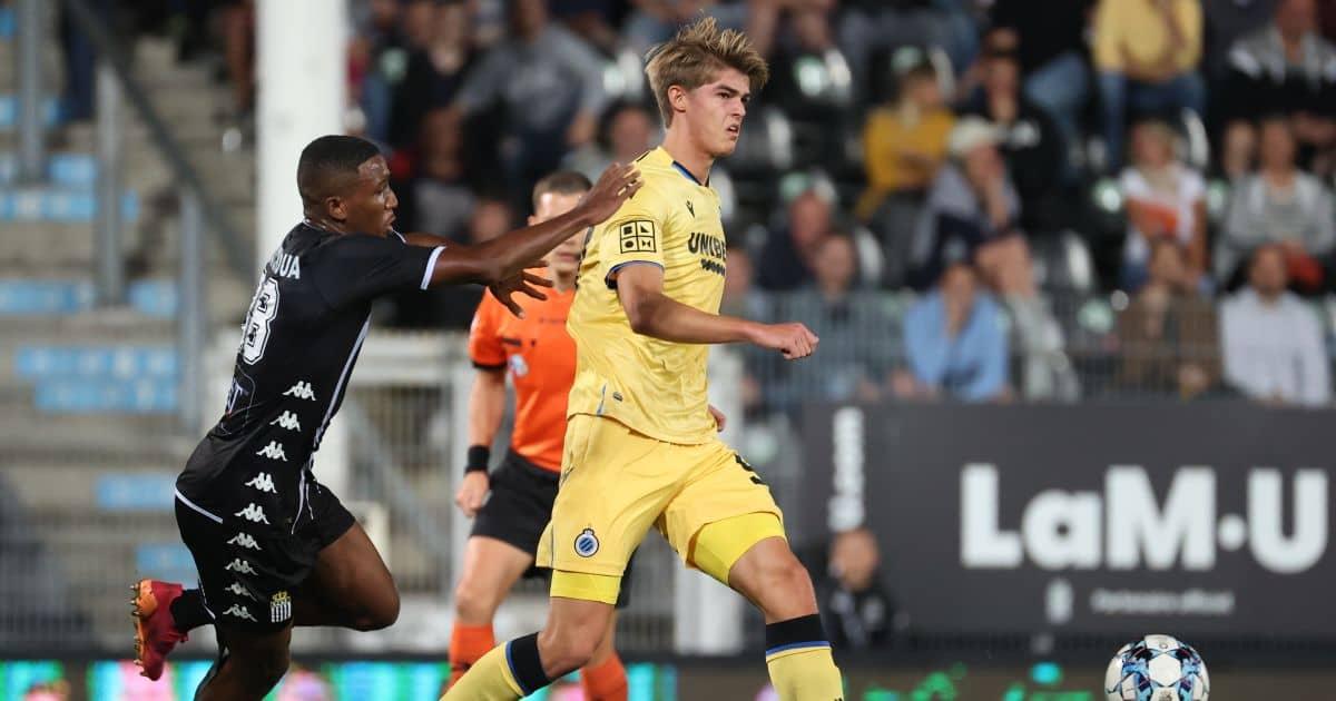 Charles de Ketelaere, Jackson Tchatchoua Charleroi v Club Brugge, September 2021
