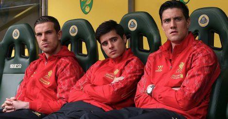 Jordan Henderson, Joao Teixeira and Luis Alberto