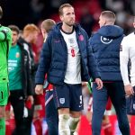 England players applaud fans after 1-1 draw with Hungary