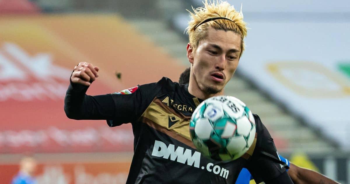 Yuma Suzuki, Sint-Truiden striker