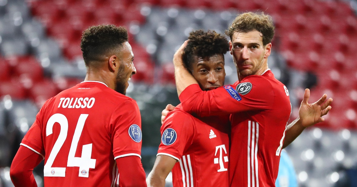 Kingsley Coman Bayern