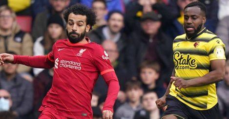 Mohamed Salah, Danny Rose, Watford v Liverpool Premier League