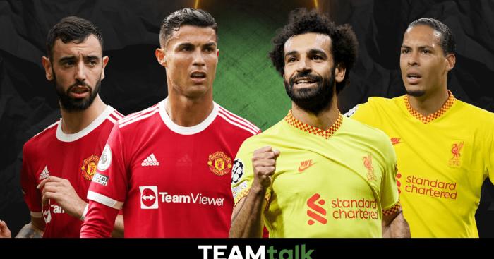 Bruno Fernandes, Cristiano Ronaldo, Mohamed Salah, Virgil van Dijk, Man Utd v Liverpool, TEAMtalk Predictions