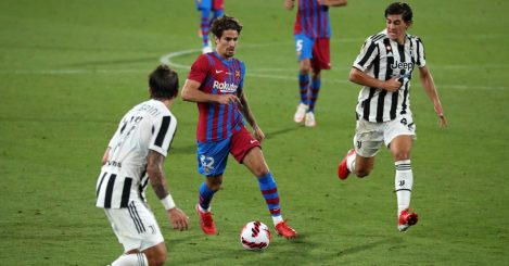 Alex Collado during the match between FC Barcelona and Juventus
