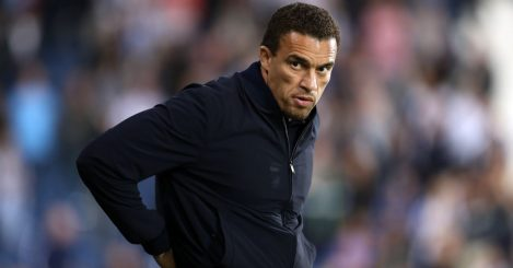 West Bromwich Albion manager Valerien Ismael during the Sky Bet Championship match at The Hawthorns