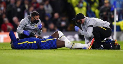 Chelsea striker Romelu Lukaku, October 2021