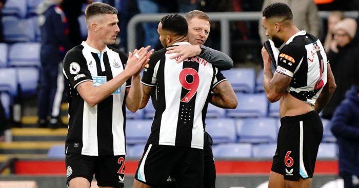 Callum Wilson Newcastle Graeme Jones October 2021