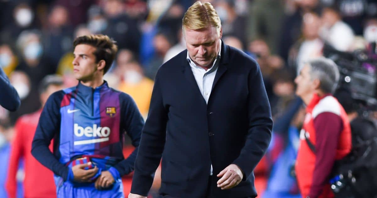 Prem boss in running, but favourite emerges as Barcelona sack Koeman